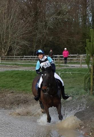 Kate & 'Henry' competing at the National Hunter Trials at Flowerhill in the Advanced Intermediate Class, April 2014