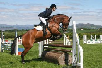 Lauren & 'Kimberley' competing at the Letterkenny RC Derby, June 2014
