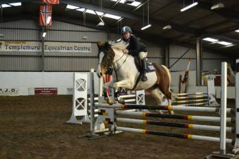 Lydia & 'Lenamore Jazz' competing in the Autumn North West League, November 2014
