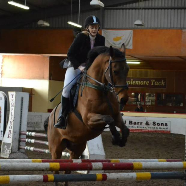 Mairead & 'Jack' competing in the Autumn North West League, November 2014
