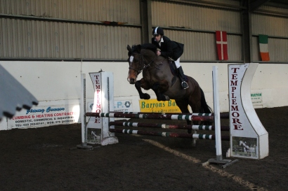 Paul & 'Lara' competing in the Intermediate Class at our Christmas Show in December 2014