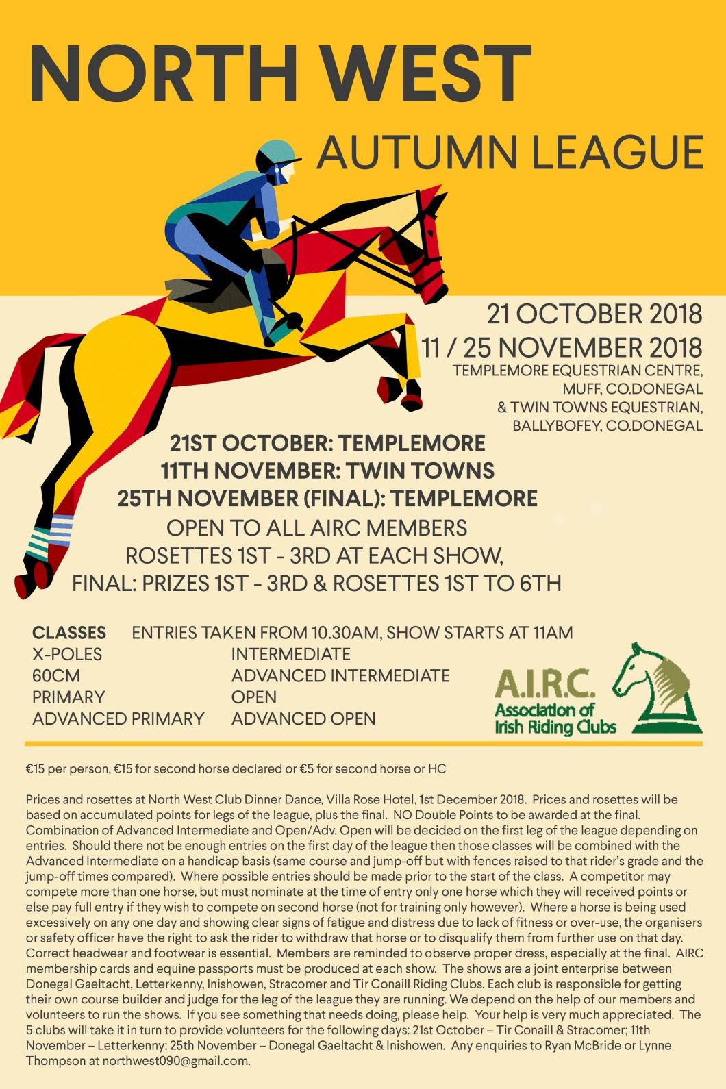 Autumn League Poster