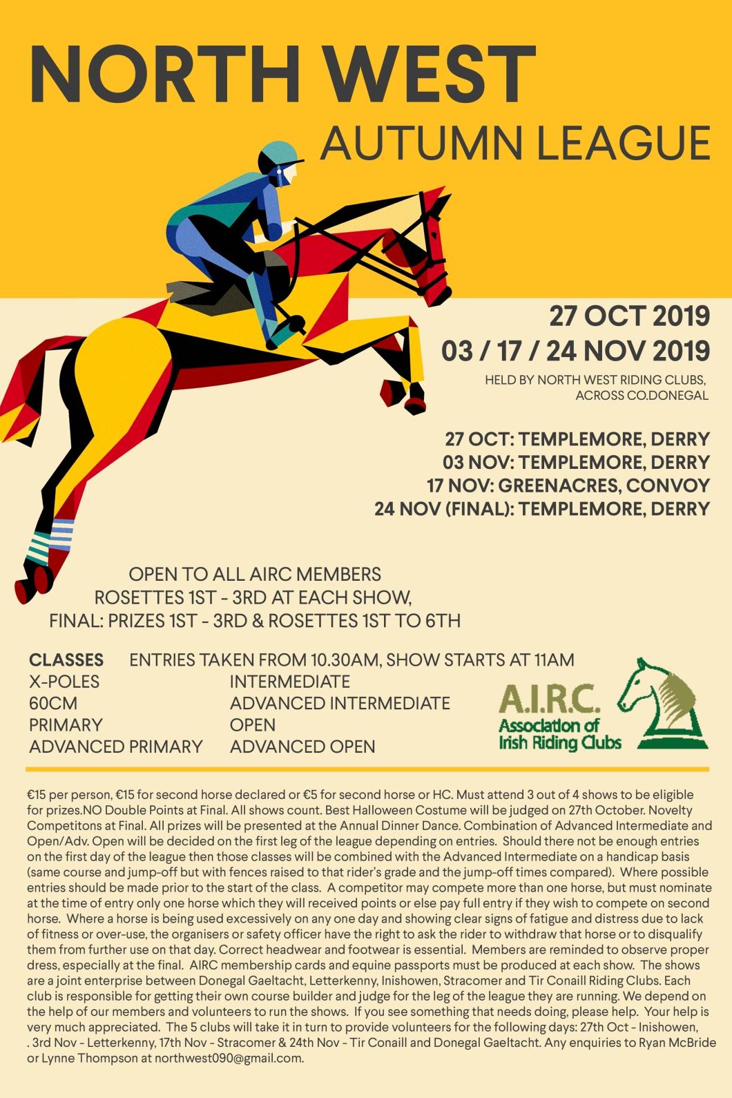 Autumn League Poster 2019
