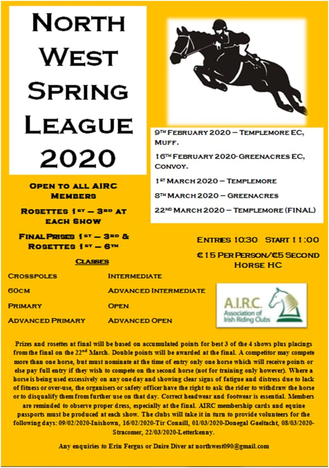 Spring League Poster 2020